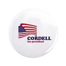 "Don Cordell for president 3.5"" Button (100 pack)"
