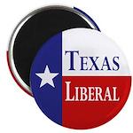 Texas Liberal (Refrigerator Magnet)
