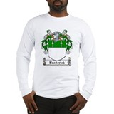 Broderick Family Crest Long Sleeve T-Shirt