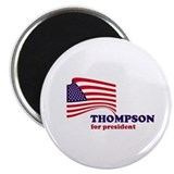 "Fred Thompson for president 2.25"" Magnet (10 pack)"