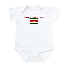 SURINAMESE MAKE BETTER LOVERS Infant Bodysuit