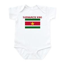 SURINAMESE KING Infant Bodysuit