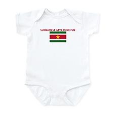 SURINAMESE HAVE MORE FUN Infant Bodysuit