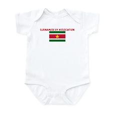 SURINAMESE BY ASSOCIATION Infant Bodysuit