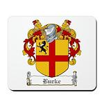 Burke Family Crest Mousepad