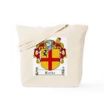 Burke Family Crest Tote Bag