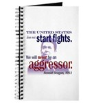 Ronald Reagan Never Aggressor Journal