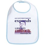 Ronald Reagan Liberty Contracts Bib