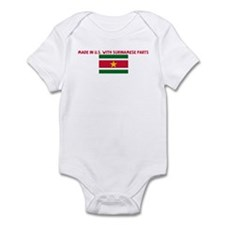 MADE IN US WITH SURINAMESE PA Infant Bodysuit