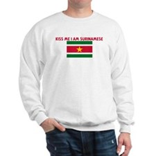 KISS ME I AM SURINAMESE Sweatshirt
