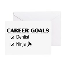 Dentist Career Goals Greeting Cards (Pk of 10)