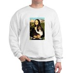 Mona Lisa / Sheltie (s&w) Sweatshirt