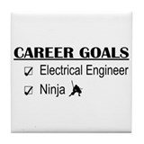 EE Career Goals Tile Coaster