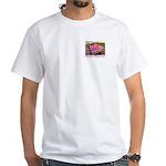 Panther Pink White T-Shirt