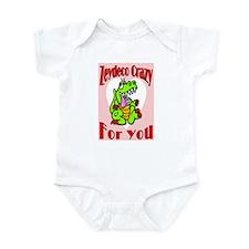 Zydeco Crazy For You Infant Bodysuit