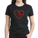 Be My Valentine Cupid Women's Dark T-Shirt