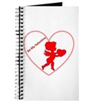 Be My Valentine Cupid Journal
