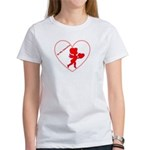 Be My Valentine Cupid Women's T-Shirt