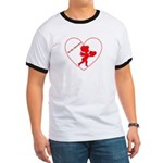 Be My Valentine Cupid Ringer T