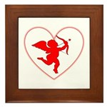 Cupis's Arrow Valentine Framed Tile