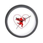 Cupis's Arrow Valentine Wall Clock
