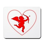 Cupis's Arrow Valentine Mousepad