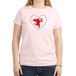 Cupis's Arrow Valentine Women's Light T-Shirt