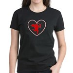 Cupis's Arrow Valentine Women's Dark T-Shirt