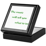 Music Will Tell You Keepsake Box