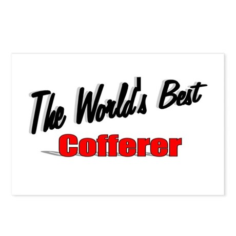 """The World's Best Cofferer"" Postcards (Package of"