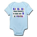 B a Violist Infant Bodysuit