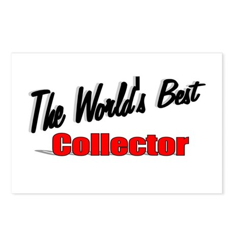 &quot;The World's Best Collector&quot; Postcards (Package of