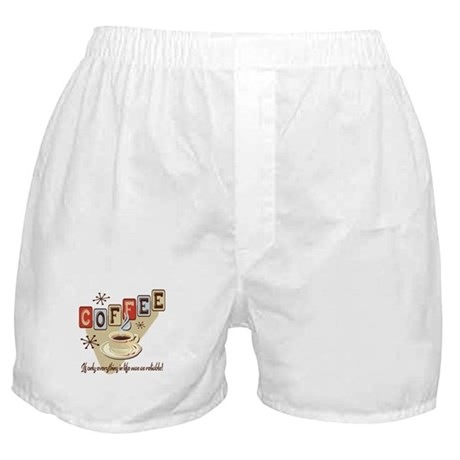Reliable Coffee Boxer Shorts