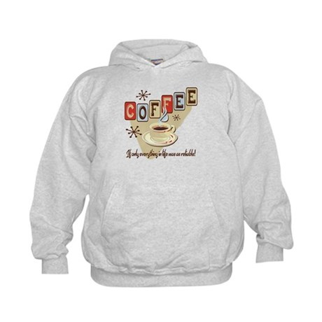 Reliable Coffee Kids Hoodie