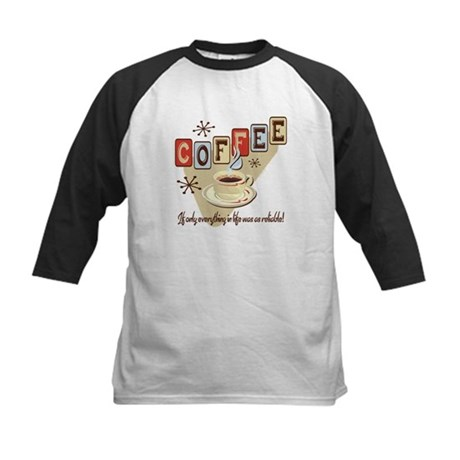 Reliable Coffee Kids Baseball Jersey
