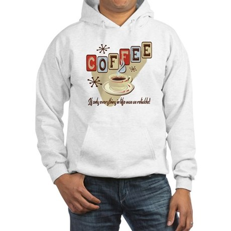 Reliable Coffee Hooded Sweatshirt