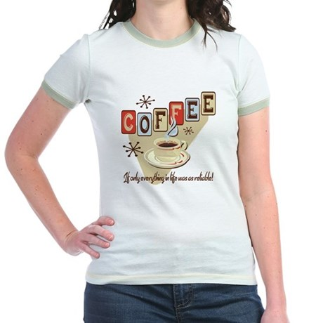Reliable Coffee Jr. Ringer T-Shirt