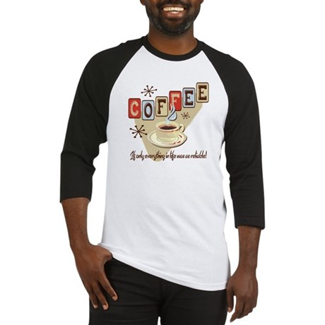 Reliable Coffee Baseball Jersey