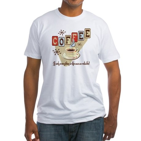 Reliable Coffee Fitted T-Shirt