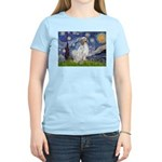 English Setter / Starry Night Women's Light T-Shir