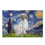 English Setter / Starry Night Postcards (Package o