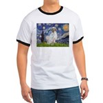 English Setter / Starry Night Ringer T