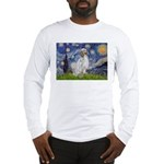 English Setter / Starry Night Long Sleeve T-Shirt