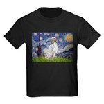 English Setter / Starry Night Kids Dark T-Shirt