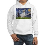 English Setter / Starry Night Hooded Sweatshirt
