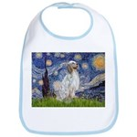 English Setter / Starry Night Bib