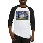 English Setter / Starry Night Baseball Jersey