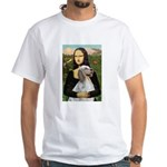 Mona's English Setter White T-Shirt
