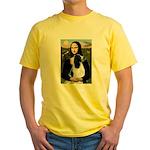 Mona Lisa/English Springer Yellow T-Shirt