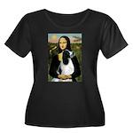 Mona Lisa/English Springer Women's Plus Size Scoop